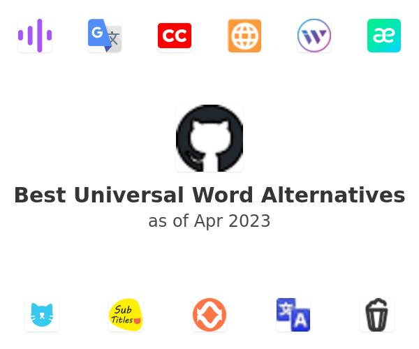 Best Universal Word Alternatives