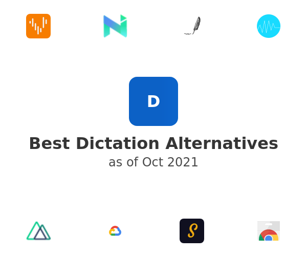 Best Dictation Alternatives