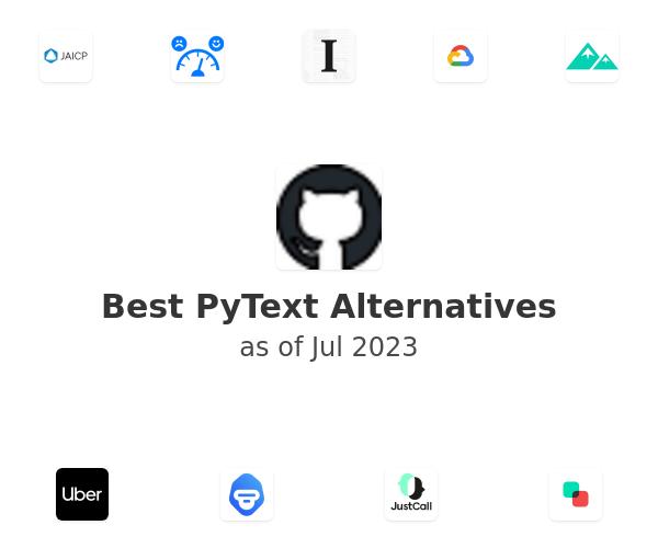 Best PyText Alternatives