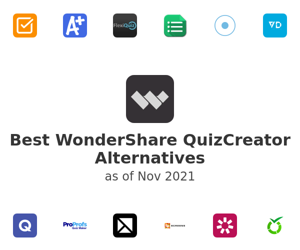 Best WonderShare QuizCreator Alternatives