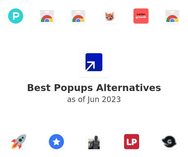 Best Popups Alternatives