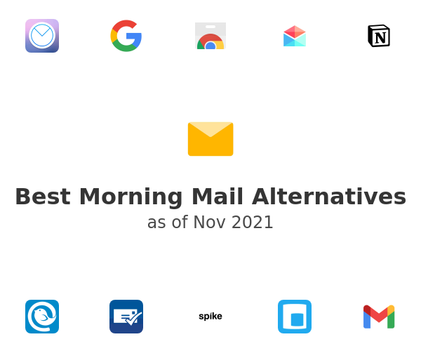 Best Morning Mail Alternatives