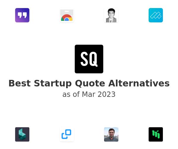 Best Startup Quote Alternatives