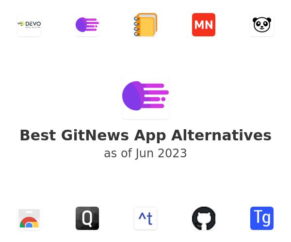 Best GitNews Alternatives