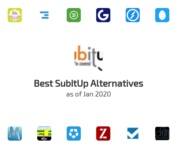 Best SubItUp Alternatives