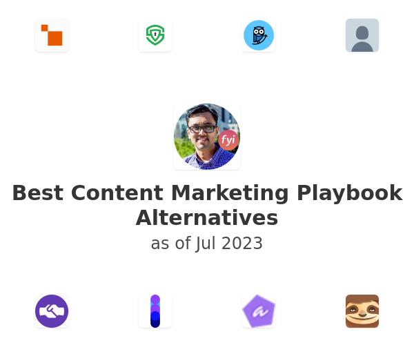 Best Content Marketing Playbook Alternatives