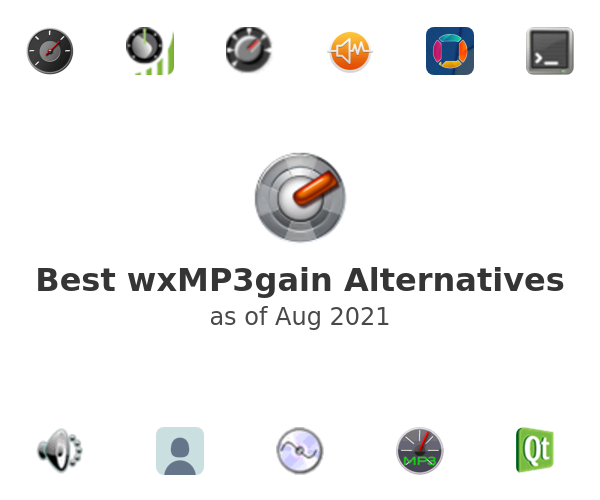 Best wxMP3gain Alternatives