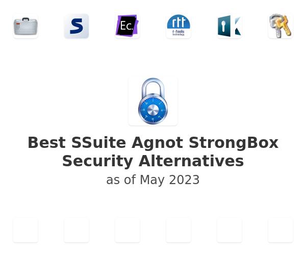 Best SSuite Agnot StrongBox Security Alternatives