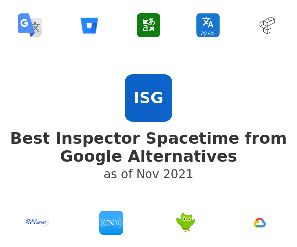 Best Inspector Spacetime from Google Alternatives