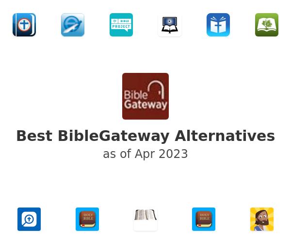 Best BibleGateway Alternatives