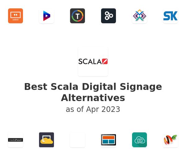 Best Scala Digital Signage Alternatives