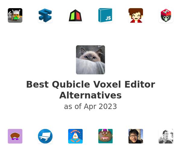 Best Qubicle Voxel Editor Alternatives