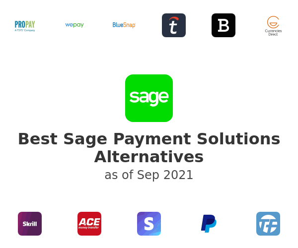 Best Sage Payment Solutions Alternatives