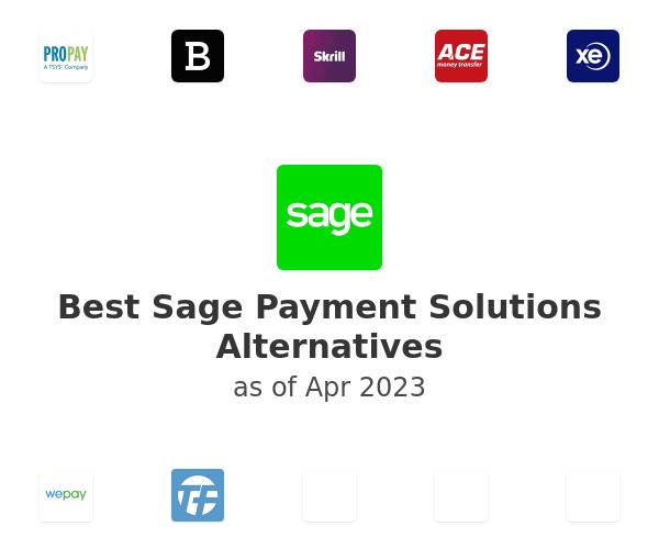 Best Sage Payment Solutions Alternatives