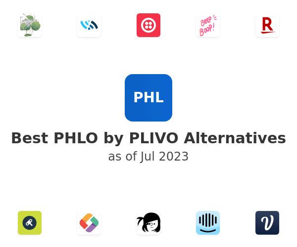 Best PHLO by PLIVO Alternatives
