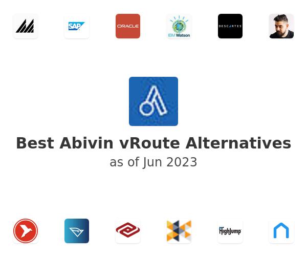 Best Abivin vRoute Alternatives