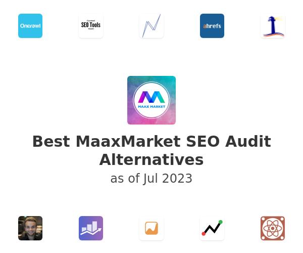 Best MaaxMarket SEO Audit Alternatives