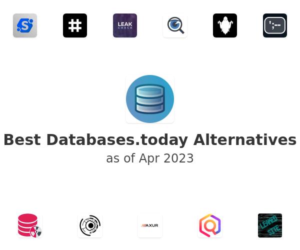 Best Databases.today Alternatives