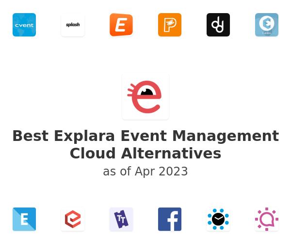 Best Explara Event Management Cloud Alternatives