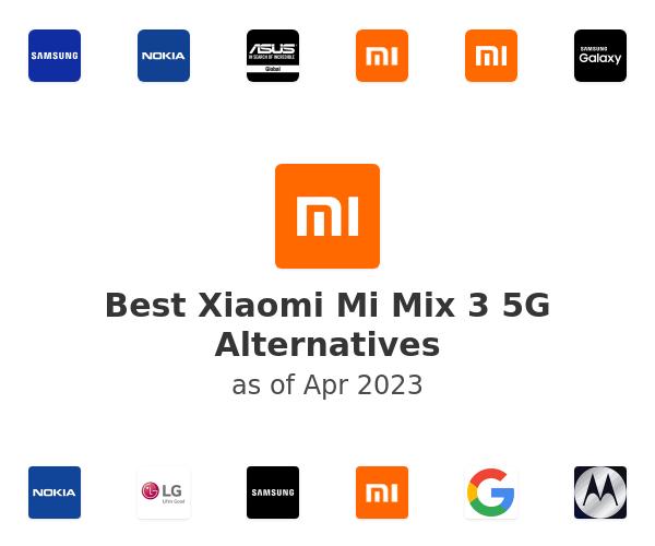 Best Xiaomi Mi Mix 3 5G Alternatives