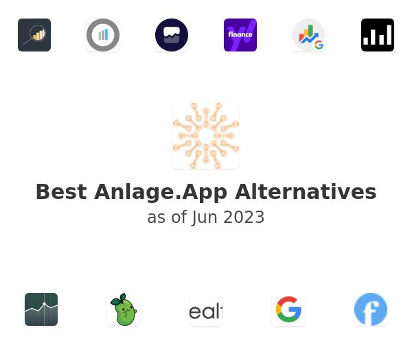 Best Anlage.App Alternatives