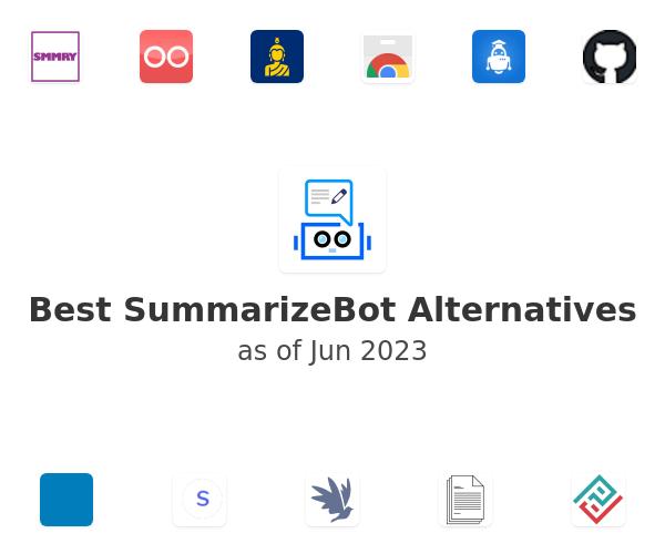 Best SummarizeBot Alternatives