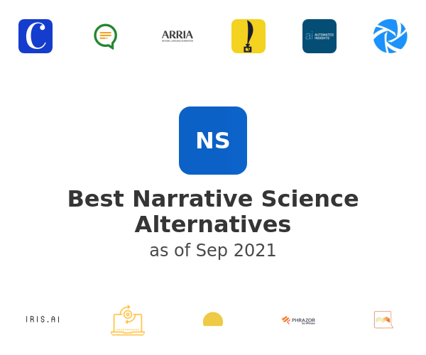 Best Narrative Science Alternatives