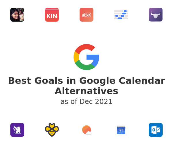 Best Goals in Google Calendar Alternatives