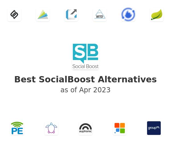 Best SocialBoost Alternatives