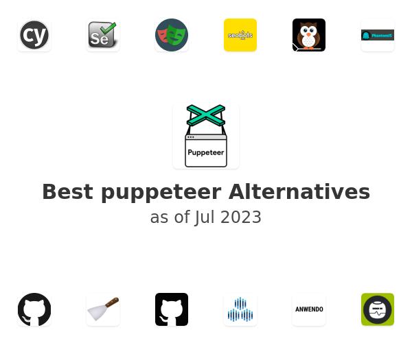 Best puppeteer Alternatives