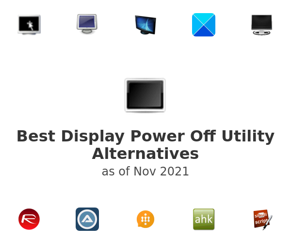 Best Display Power Off Utility Alternatives