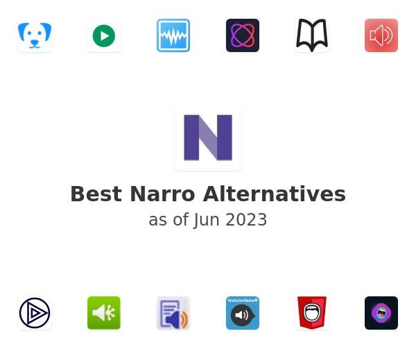 Best Narro Alternatives