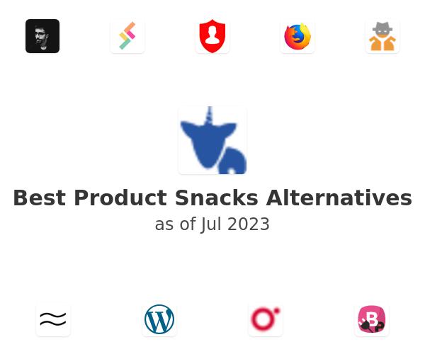 Best Product Snacks Alternatives