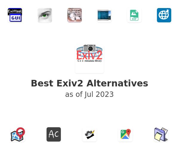 Best Exiv2 Alternatives