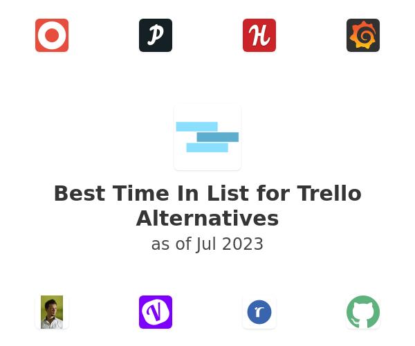 Best Time In List for Trello Alternatives