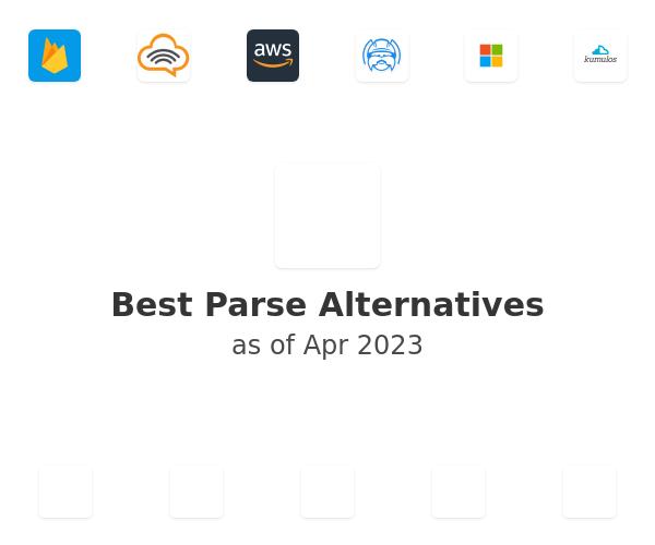 Best Parse Alternatives