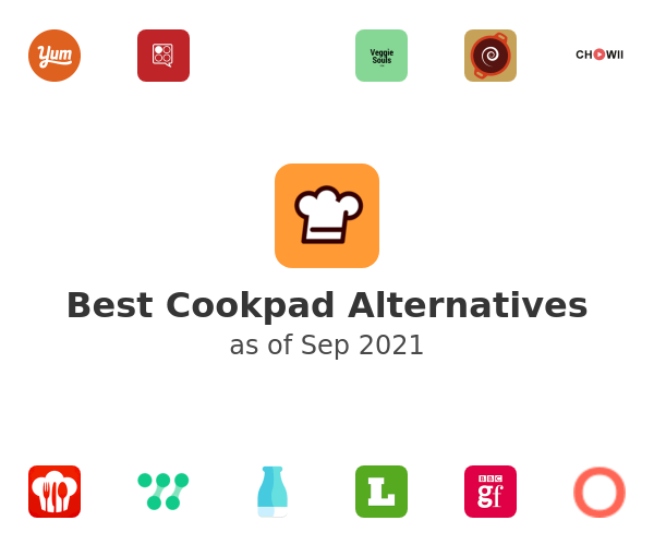 Best Cookpad Alternatives