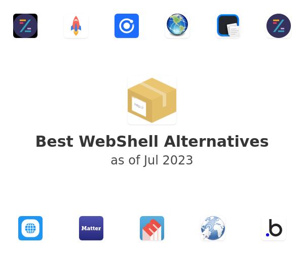 Best WebShell Alternatives