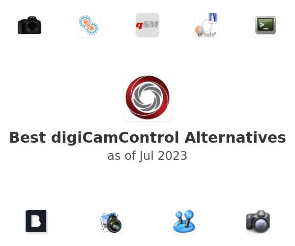Best digiCamControl Alternatives