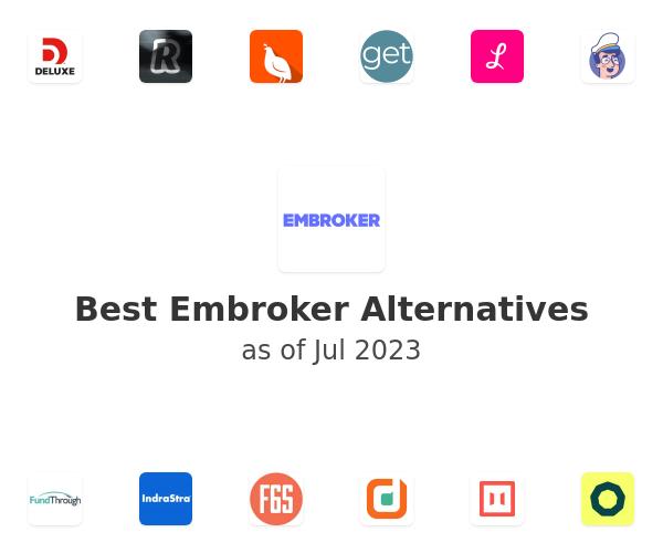 Best Embroker Alternatives