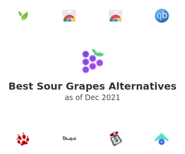 Best Sour Grapes Alternatives