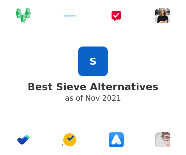 Best Sieve Alternatives
