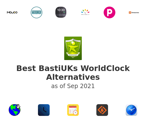 Best BastiUKs WorldClock Alternatives