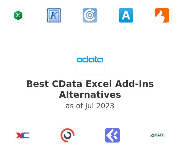Best CData Excel Add-Ins Alternatives