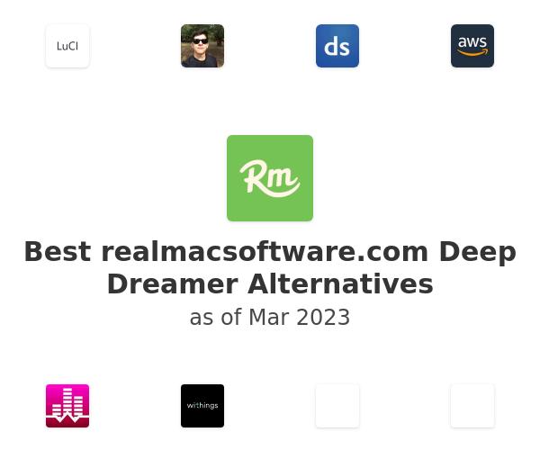 Best realmacsoftware.com Deep Dreamer Alternatives
