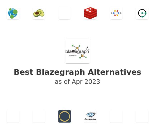 Best Blazegraph Alternatives