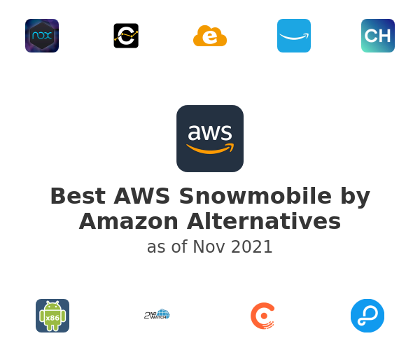 Best AWS Snowmobile by Amazon Alternatives