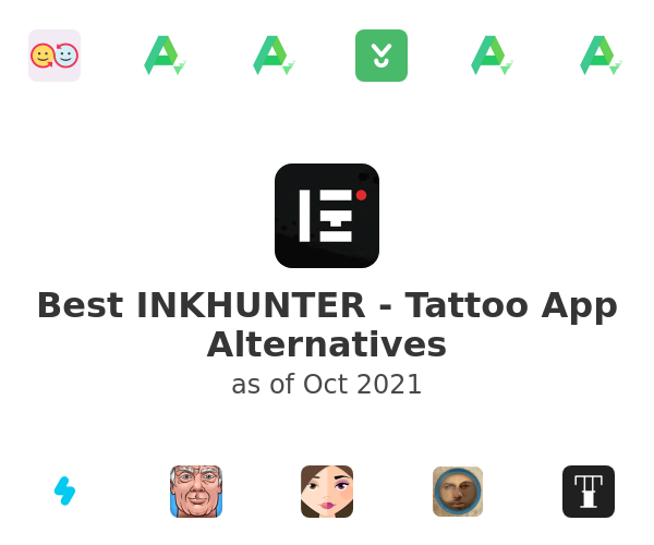 Best INKHUNTER - Tattoo App Alternatives