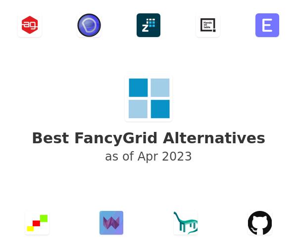Best FancyGrid Alternatives