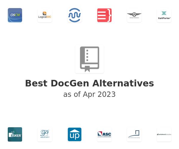 Best DocGen Alternatives